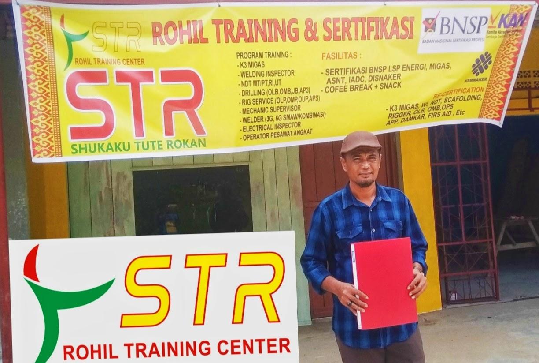 """Tidak perlu keluar Daerah """"Uji Kopentensi dan Sertifikasi,(migas) ada di Rohil"""
