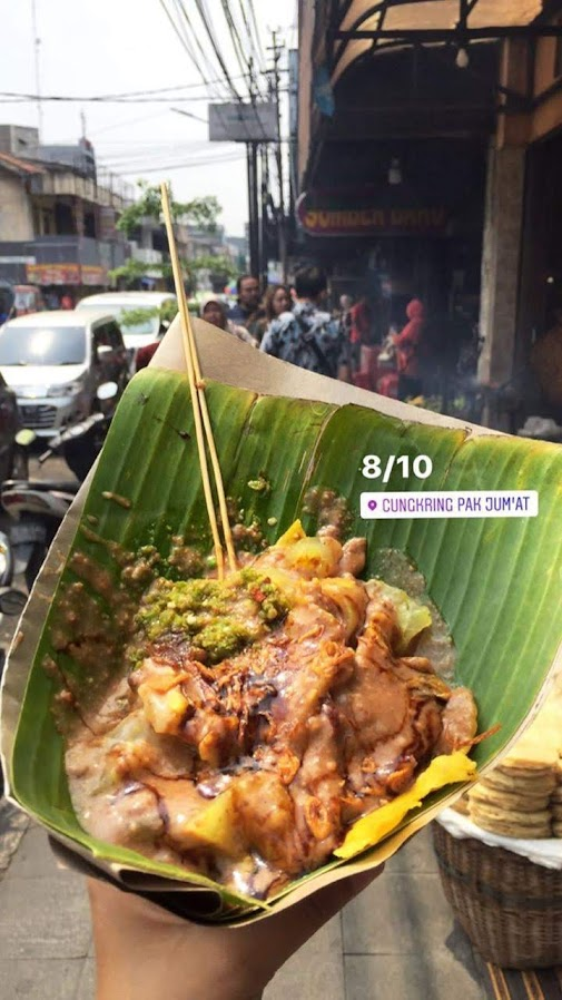 Cungkring, Traditional Food, Behind Stories