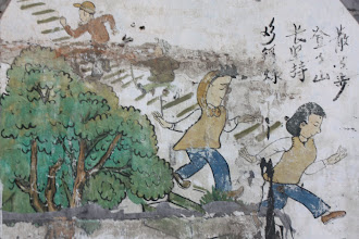 Photo: Day 190 - Mural on Wall in Hutang Alley