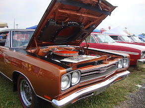 Photo: One of the only 69 GTX Hemi car there, almost correct but had glossy hood black out and no black out behind the grille, other wise very nice