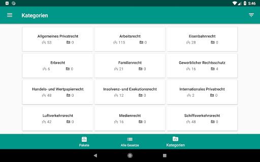 Lawdroid AT – Österreichische Gesetze und EU-Recht screenshot 16