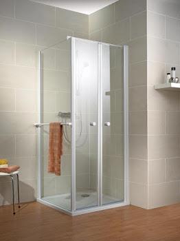 Portes de douche battantes pour paroi latérale