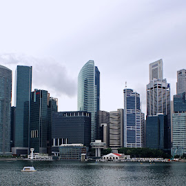 Marina Bay by Mulawardi Sutanto - City,  Street & Park  Historic Districts ( singapore, city, marina bay, travel, building )