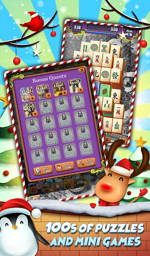 Xmas Mahjong: Christmas Holiday Magic android2mod screenshots 3
