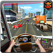 City Highway Truck Racer: Legendary Traffic Race