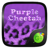 Purple Cheetah Keyboard Theme