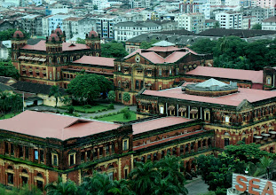Photo: Year 2 Day 54 - Government Buildings in Yangon, Viewed From Above