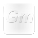 Glass Metal Theme Go Launcher icon