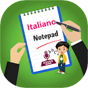 Italian Typing - Keyboard, Notes and Editor