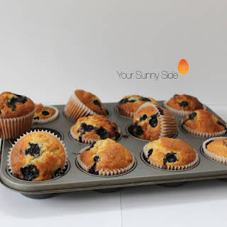 Blueberry Muffins Without Flour Recipes.