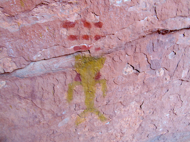 South Fork of Indian Canyon pictographs