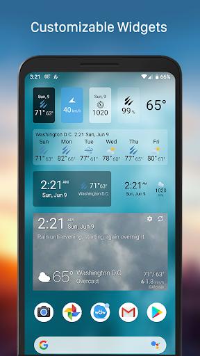 Weather & Widget - Weawow 4.4.2 screenshots 3