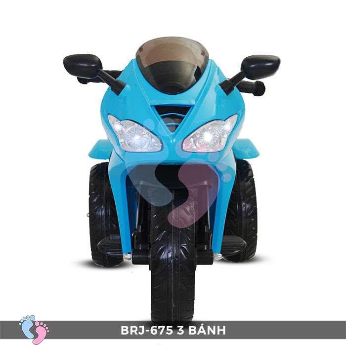 Xe moto điện trẻ em BRJ-675 3 bánh 5