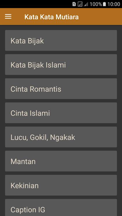 Kata Kata Mutiara Kehidupan 2019 Android تطبيقات Appagg