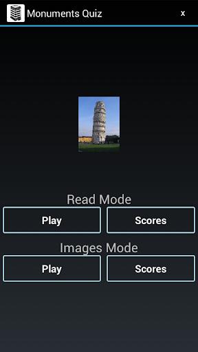 Monuments Quiz