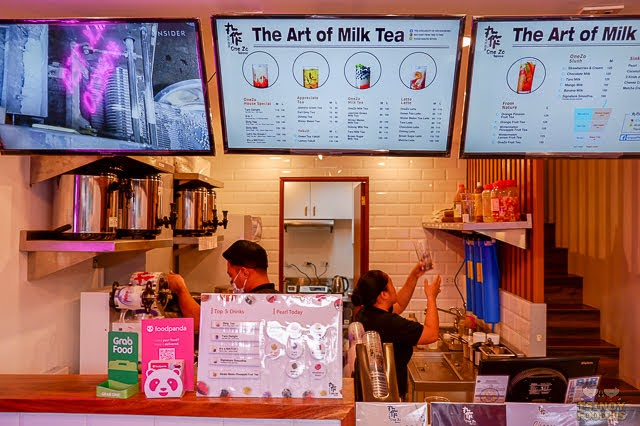 One Zo Tapioca Milk Tea 丸作食茶