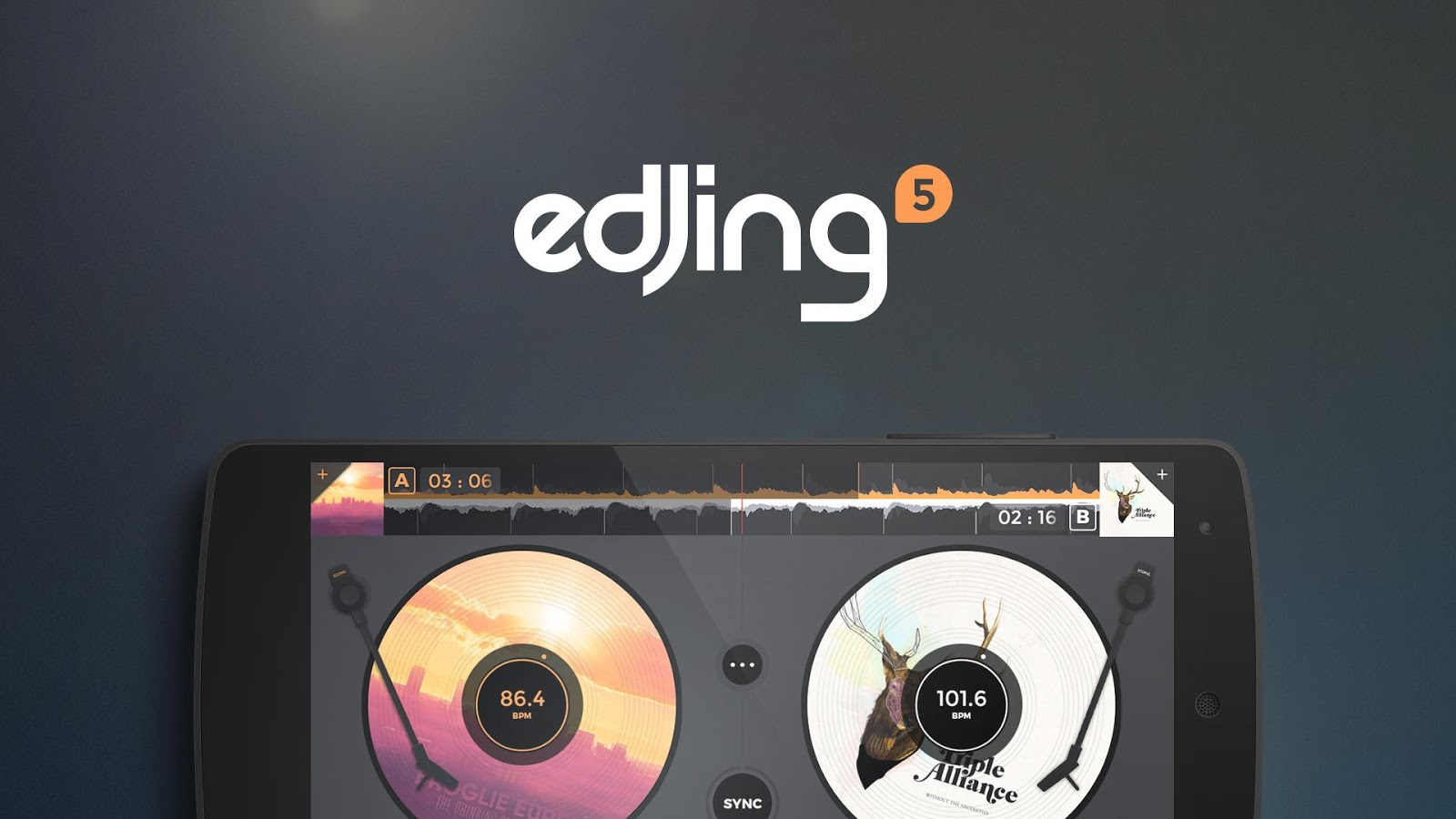 edjing - DJ Music Mixer Studio- screenshot