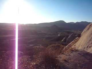Video: Climbing to the highest point of the Mormon Rocks in a first person view