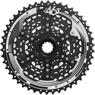 Sun Race M993 Cassette - 9 Speed, 11-46t, ED Black, Alloy Spider and Lockring alternate image 0