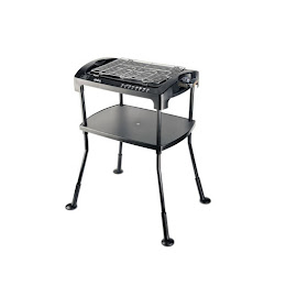Gratar electric tip grill barbeque Sinbo, 2000 W, termostat, indicator luminos
