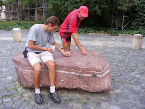 Photo: Historia skamieniałych muszelek zapisana w wapieniu (foto Zbyszek I.)