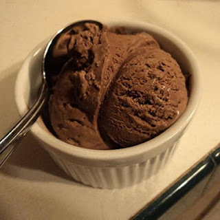 Really Easy Chocolate Ice Cream