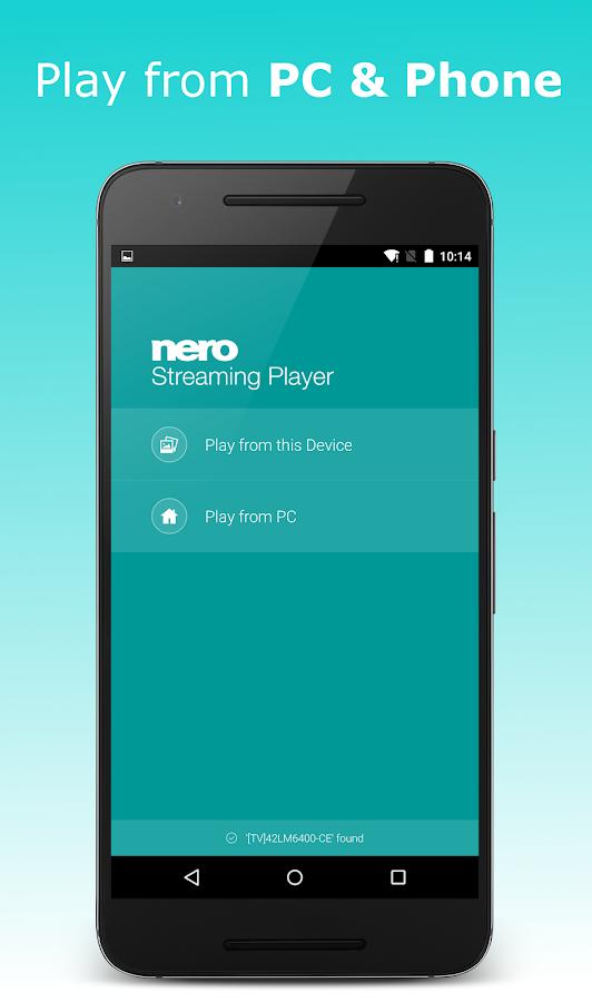 Nero Streaming Player Nero FAQ