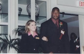 Photo: 2000 Hall of Fame Banquet - Derrick Brooks