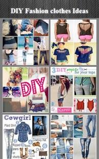 DIY módní oblečení Myšlenky - náhled