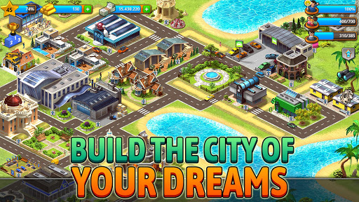 Paradise City - Island Simulation Bay apkdebit screenshots 2