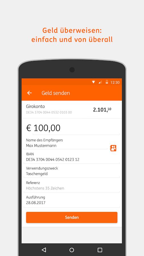 Banking To Go App Ing Diba