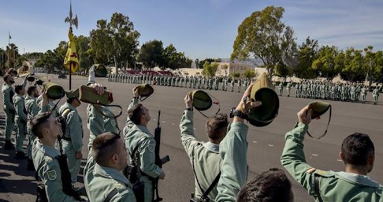 La legión y Verdita, medallas de Andalucía con acento almeriense