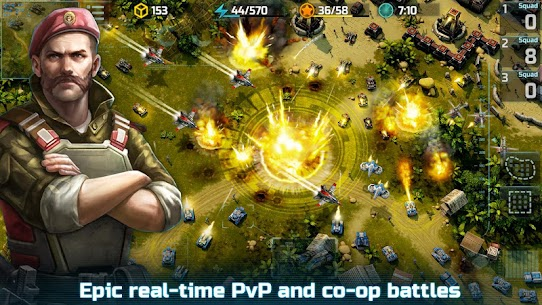 Art of War 3: PvP RTS modern warfare strategy game Apk Download For Android and Iphone 8