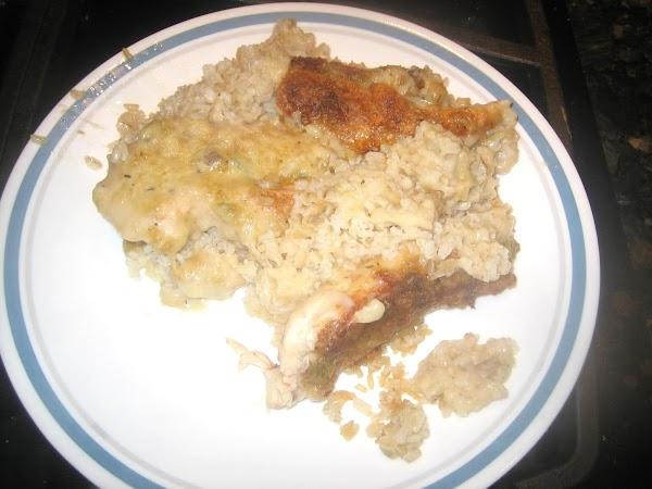 Mom's Bacon Chicken & Rice W/ 4 Soups Recipe