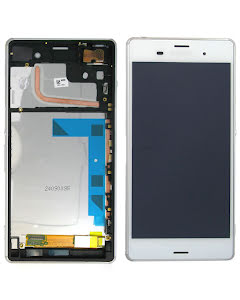 Xperia Z3 Display Original White