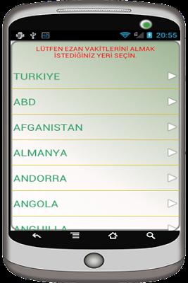 5 Vakit Namaz - Ezan Vakti - screenshot