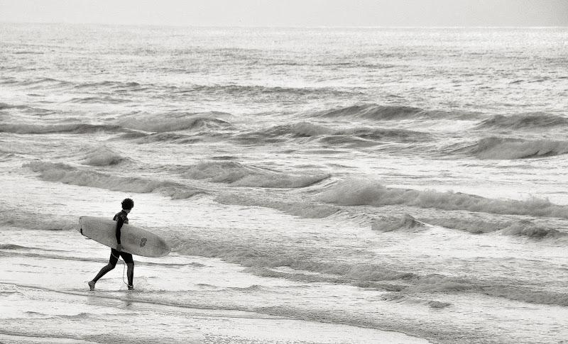 La Prima Surfata Solitaria di Paolo Scabbia