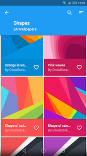 Flat Wallpapers Screenshot