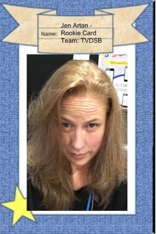 Jen Artan Trading Card
