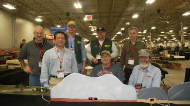 Photo: Front: Fay Chin, Mike Maloney, Ken Harstine Bac: George Michaels, Dave Ferrari, Dirk Nieuwdorp, Phil Brown  Not present: Warren S, Geoff Dunne,