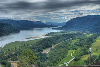 Photo: View from Crown Point HDR