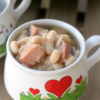 Bean and Ham Soup.