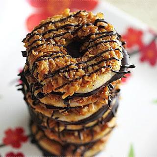 Homemade Samoa Cookies.
