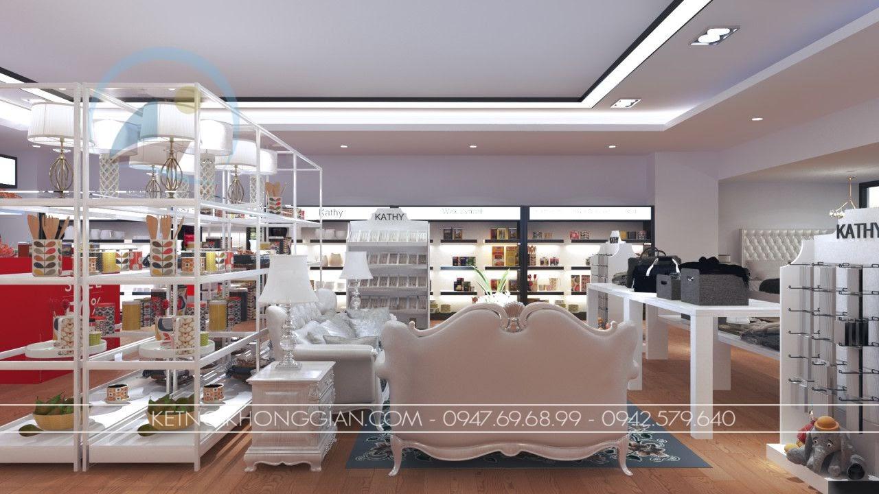 thiết kế cửa hàng đồ gia dụng cao cấp Kathy 6