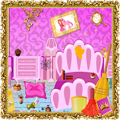 Princess Room Cleaning Games