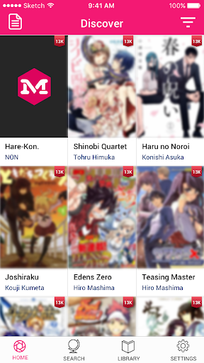 Manga Toon - Best Free Master Manga & Comic Reader 1.0.3 screenshots 1