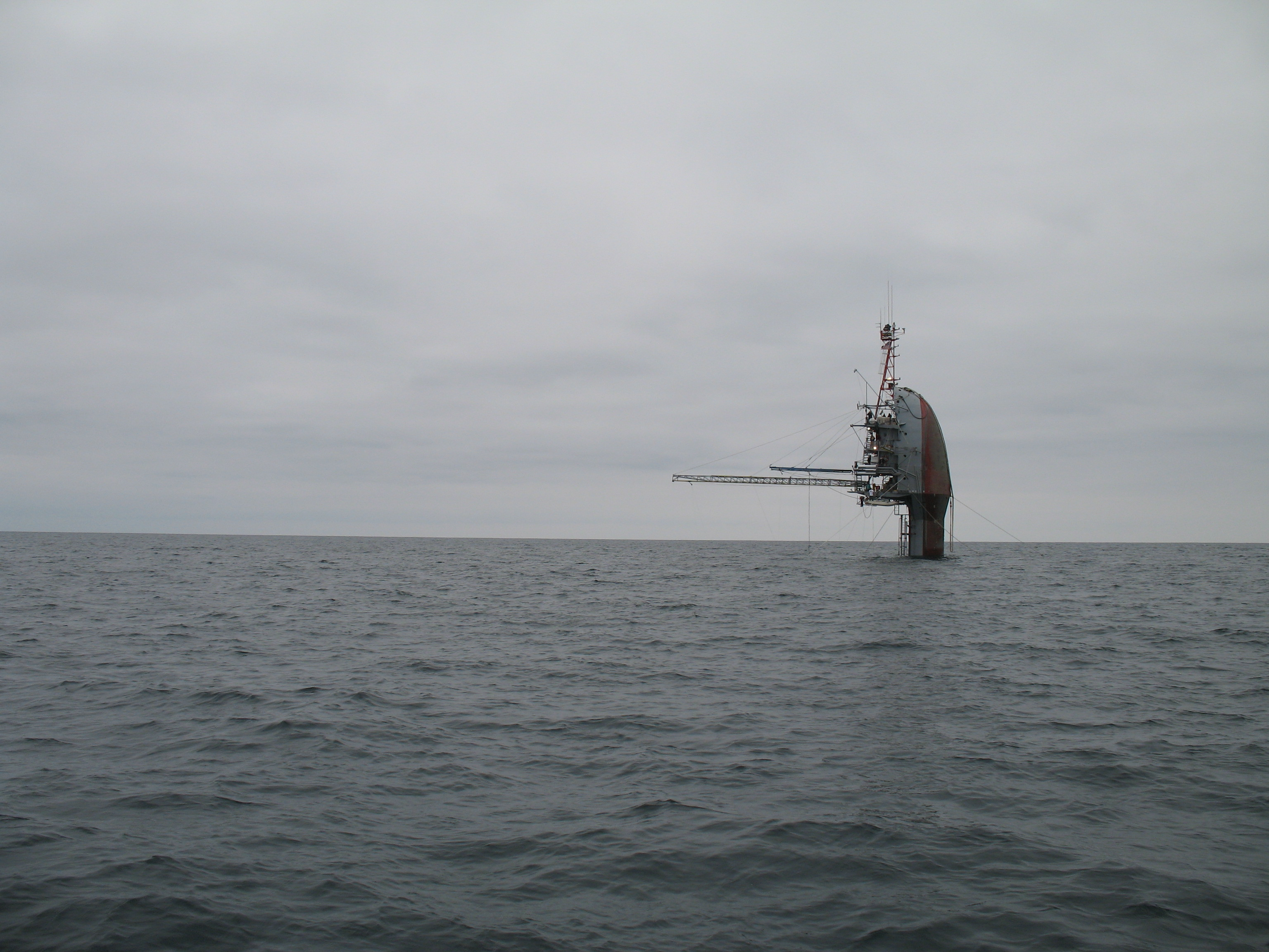 Photo: Sinking Ship?