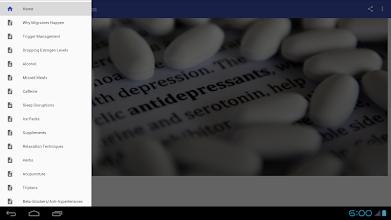 Migraine Headache Cure Tips screenshot thumbnail