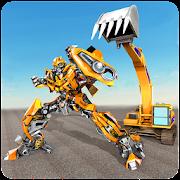 Excavator Robot Transformation: Transforming Robot