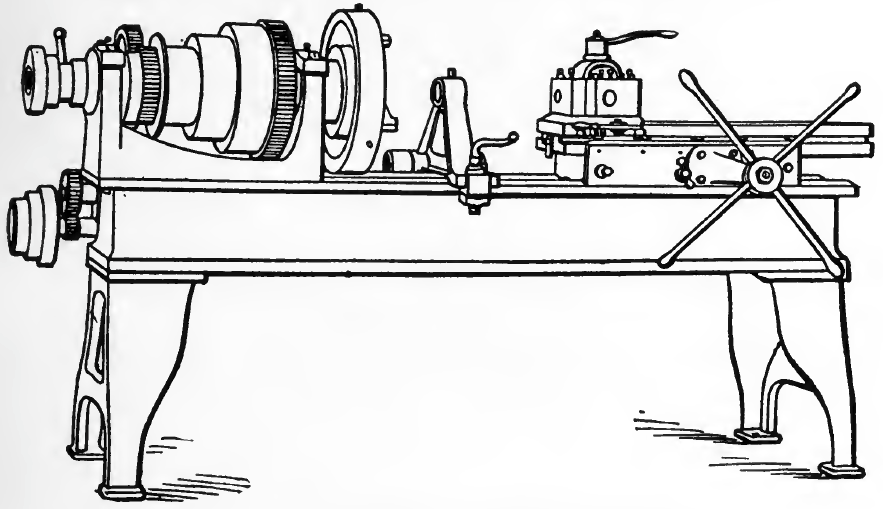 A Chucking or Turret Head Lathe